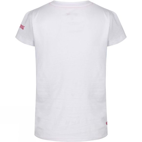 Regatta Kids Bosley II T Shirt Age 14+ White