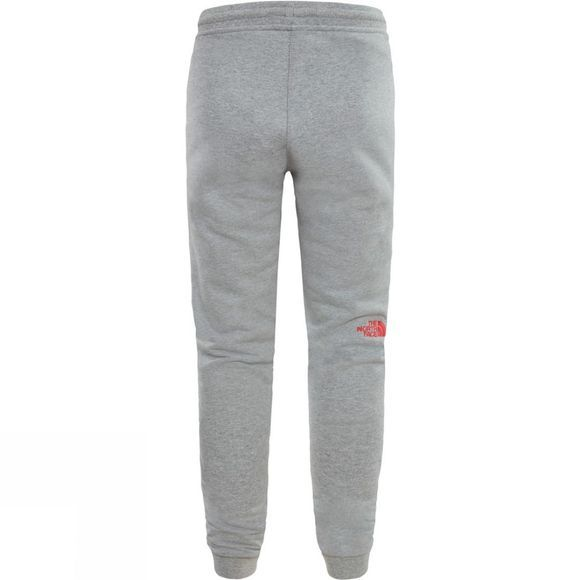The North Face Youth Fleece Pant TNF Light Heather/ Atomic Pink