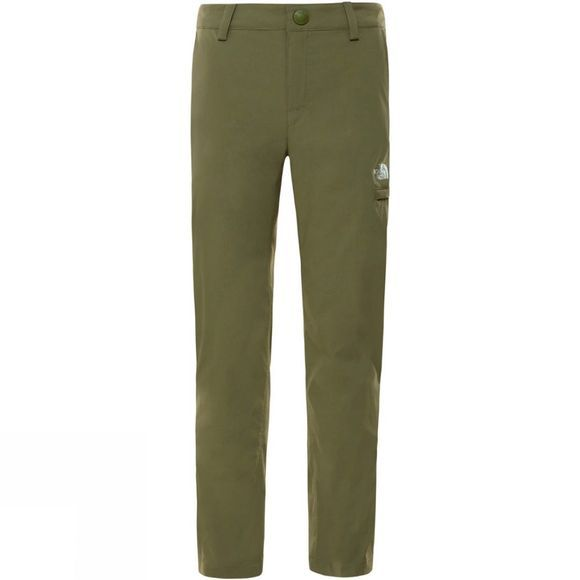 The North Face Girls Exploration Pant 14+ Four Leaf Clover