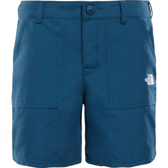 The North Face Girls Amphibious Short 14+ Blue Wing Teal