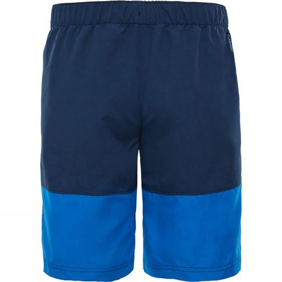 The North Face Boys Class V Water Shorts  Turkish Sea Logo Phantom Print