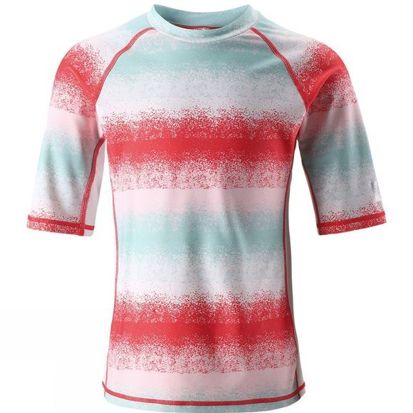 Reima Kids Fiji Sun Protection Top Pink Stripe