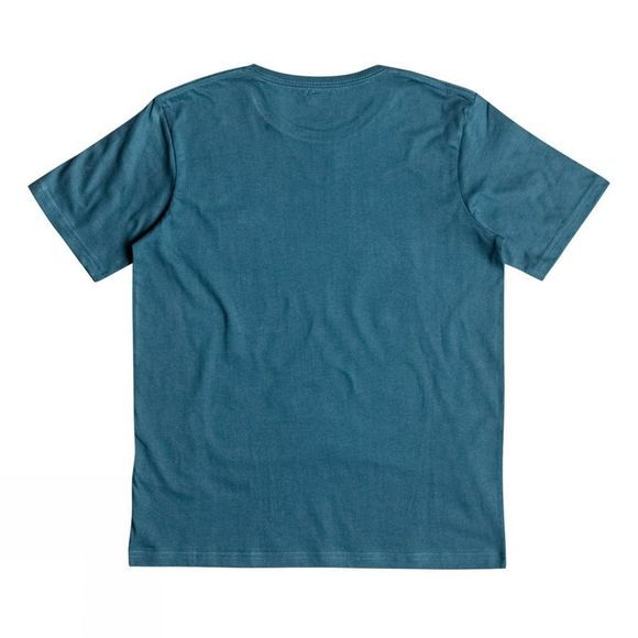 Quiksilver Boys Danger Beach Classic Tee Indian Teal