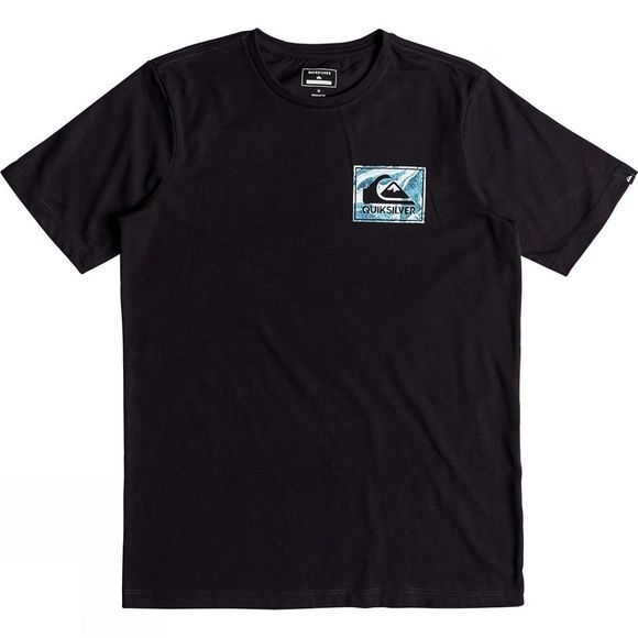 Quiksilver Kids Volcano Blues Anti IV SS Tee Tarmac