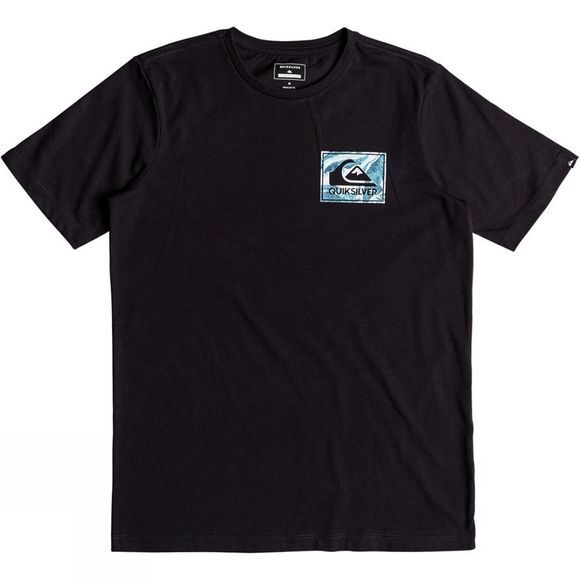 Quiksilver Kids Volcano Blues Anti UV SS Tee 14+ Tarmac