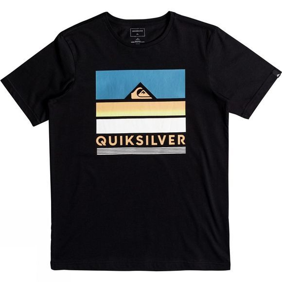 Quiksilver Kids Loud Place SS Classic Tee 14+ Black