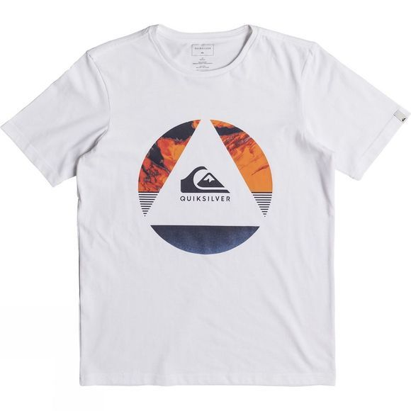 Quiksilver Kids Fluid Turns SS Classic Tee 14+ White