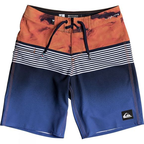Kids Highline Lava Division Youth 17 Board Shorts 14+