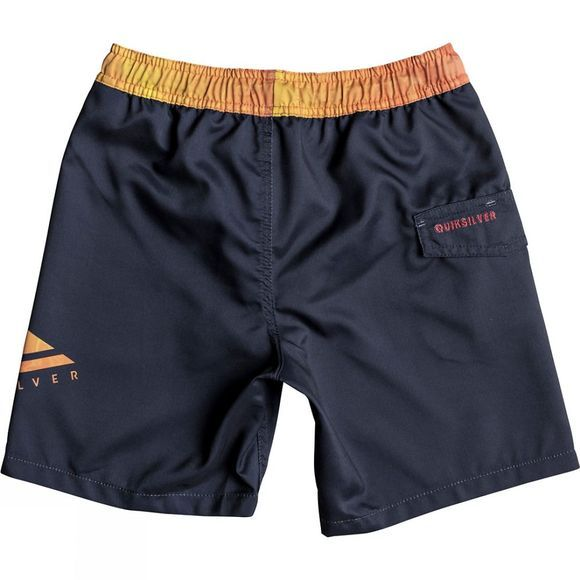 Quiksilver Kids Lava Logo Volley Youth 15 Swim Shorts 14+ Navy Blazer