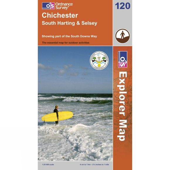 Ordnance Survey Chichester .