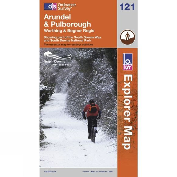 Ordnance Survey Arundel Pulborough .