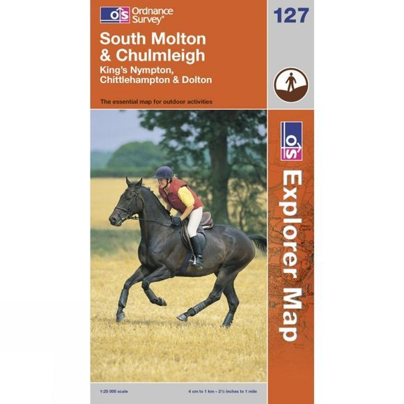 Explorer Map 127 South Molton and Chulmleigh