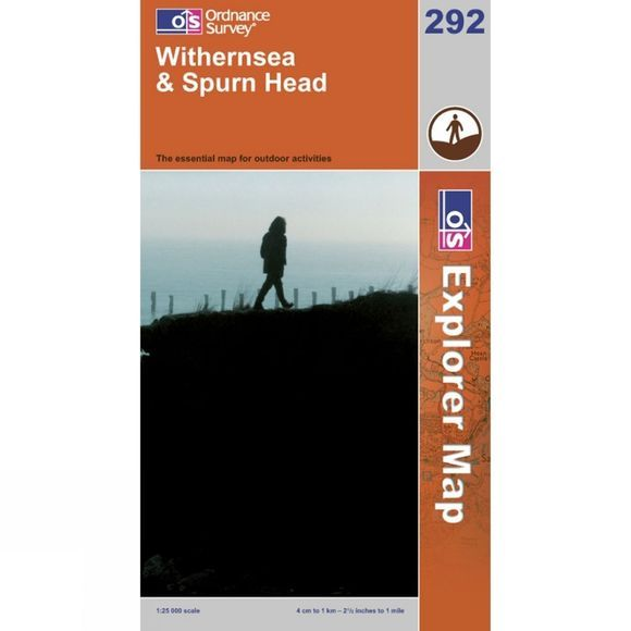 Ordnance Survey Explorer Map 292 Withernsea and Spurn Head .