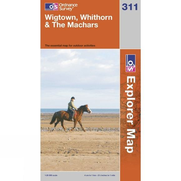 Explorer Map 311 Wigtown, Whithorn and The Machars