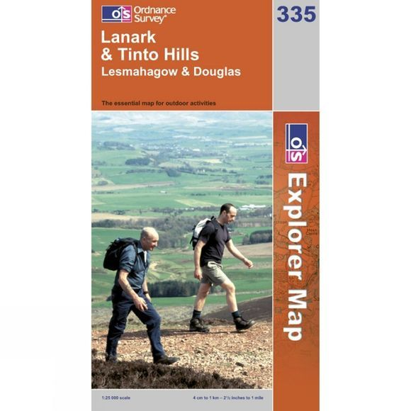Explorer Map 335 Lanark and Tinto Hills