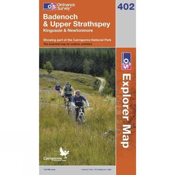 Explorer Map OL56 Badenoch and Upper Strathspay