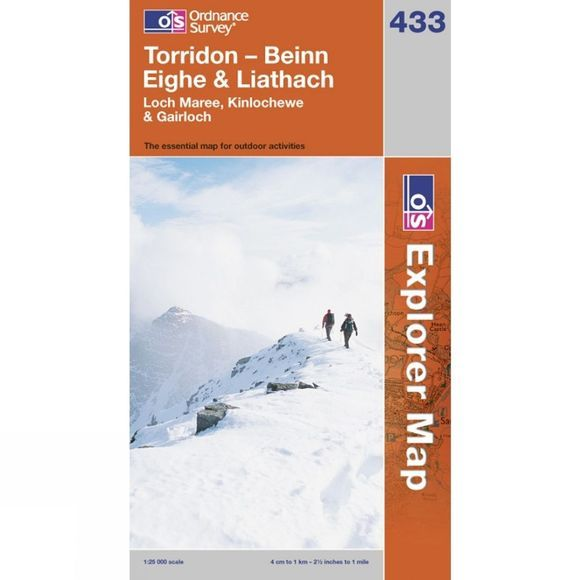 Explorer Map 433 Torridon - Beinn Eighe and Liathach