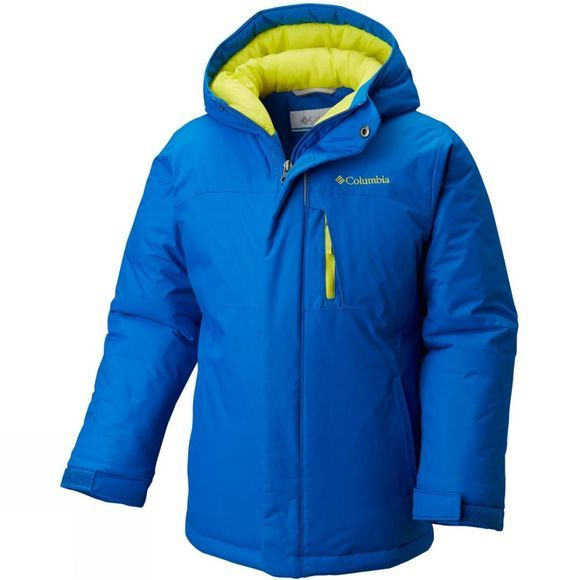Columbia Boy's Alpine Free Fall Jacket Super Blue/ Zour