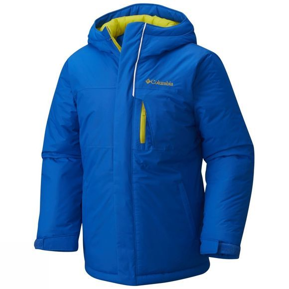 Columbia Boy's Alpine Free Fall Jacket Super Blue Ginkgo