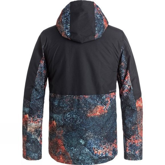 Quiksilver Boys TR Ambition Snow Jacket Marine Iguana Real