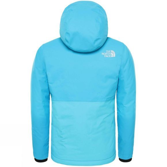 The North Face Youth Snowquest Plus Jacket Acoustic Blue