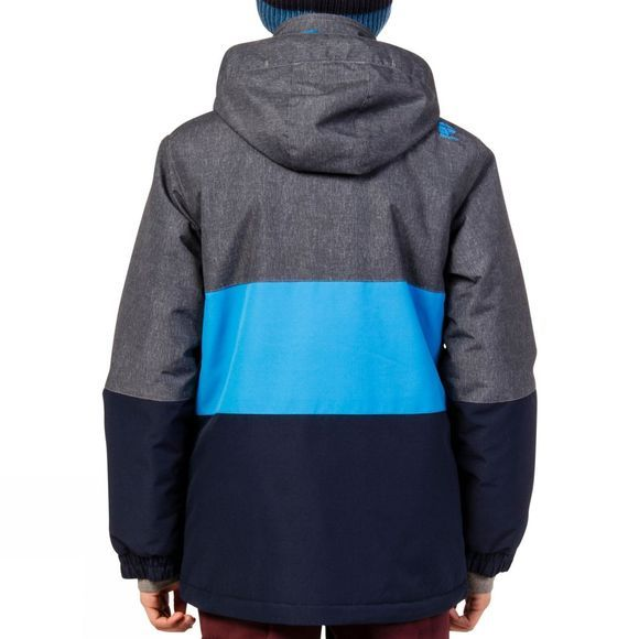 Protest Boys Elvon Snow Jacket Ground Blue