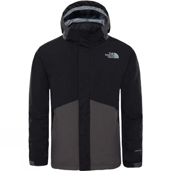 The North Face Boys Boundary Triclimate Jacket Graphite Grey