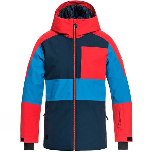 Quiksilver Boys Sycamore Snow Jacket Dress Blues