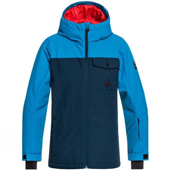 Quiksilver Boys Mission Solid Youth Jacket 14+ Dress Blues