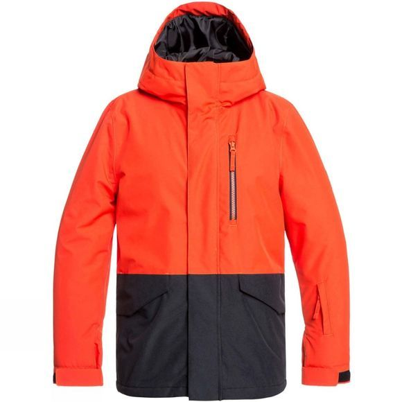 Quiksilver Boys Mission Youth Jacket 14+ Poinciana