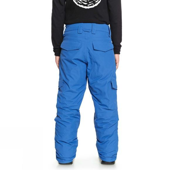 Quiksilver Boys Porter Snow Pants  Daphne Blue