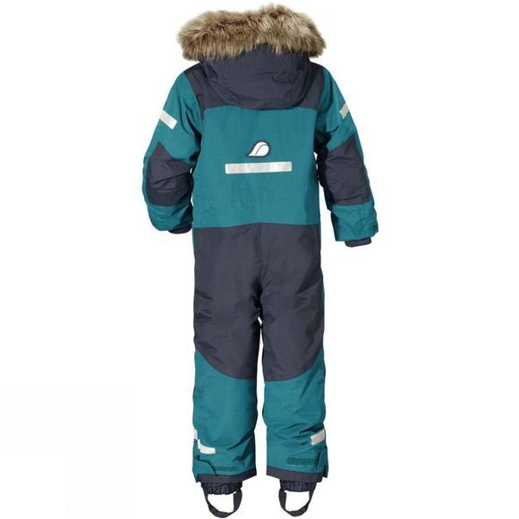 Didriksons Boys Björnen Coverall Glacier Blue