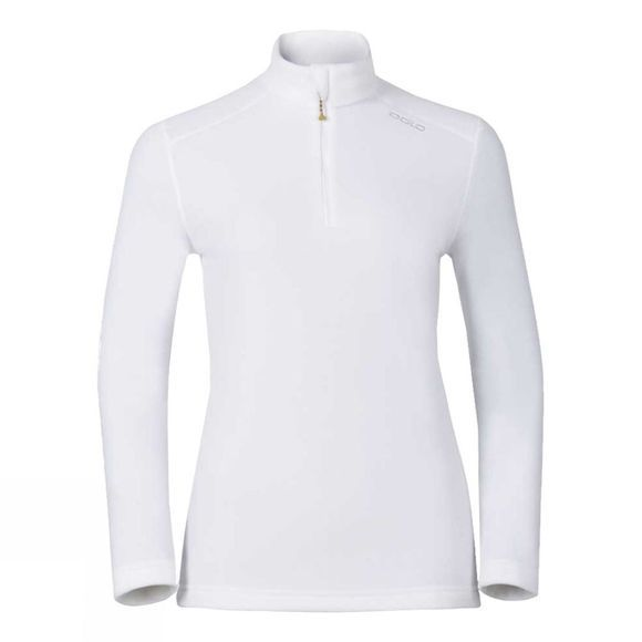 Odlo Kid's Tour 1/2 Zip Midlayer Fleece White