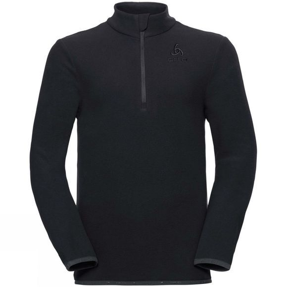 Odlo Kids Royale Half Zip Midlayer Fleece Black