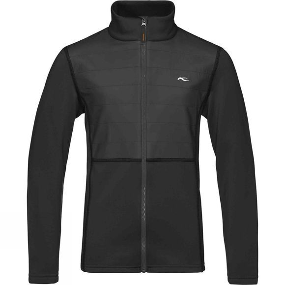 KJUS Boys Charger Midlayer Jacket Black
