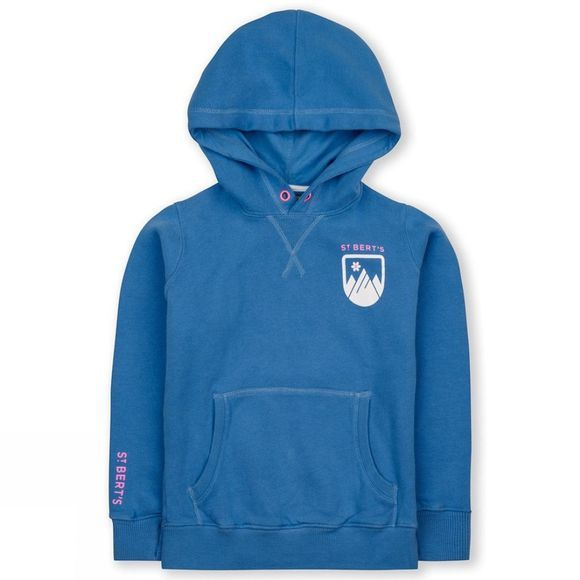 St Berts Kid's Matterhorn Hoddie Light Blue