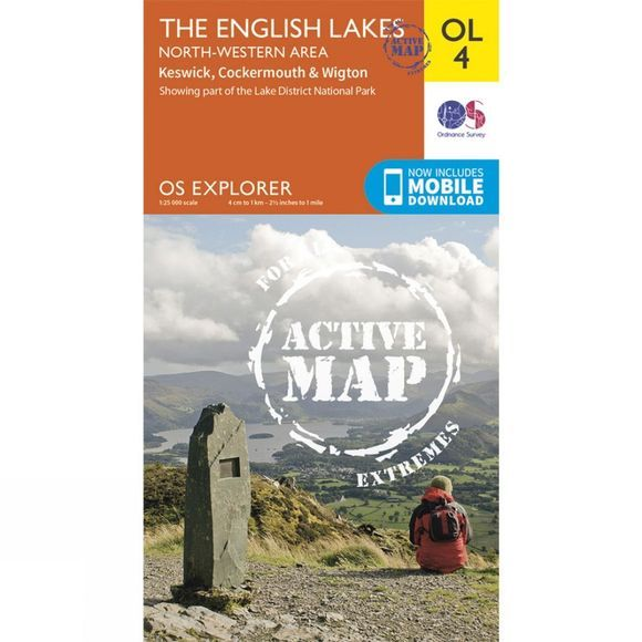 Ordnance Survey English Lakes NW V15