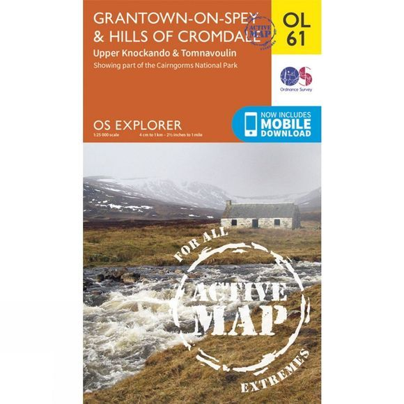 Active Explorer Map OL61 Grantown-on-Spey and Hills of Cromdale