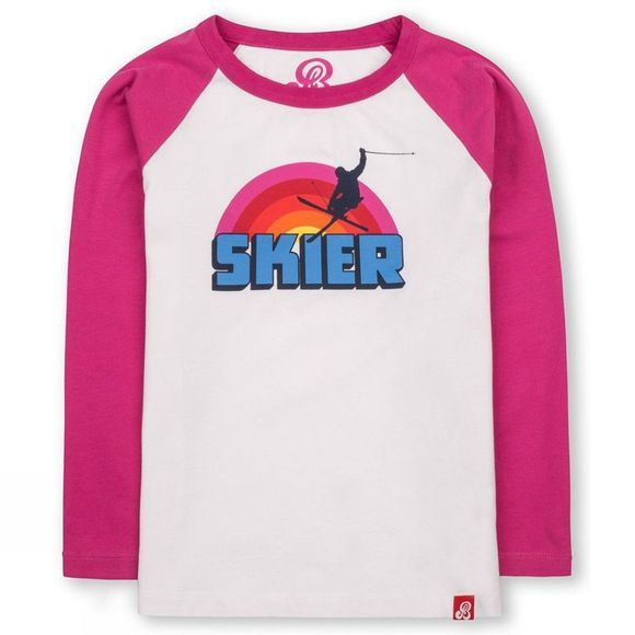 Kid's Skier Long Sleeve T-Shirt