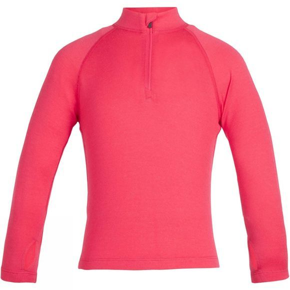 Icebreaker Kids 260 Tech Long Sleeve Half Zip Baselayer Prism