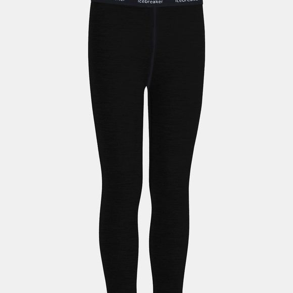 Icebreaker Boys 260 Tech Leggings Black