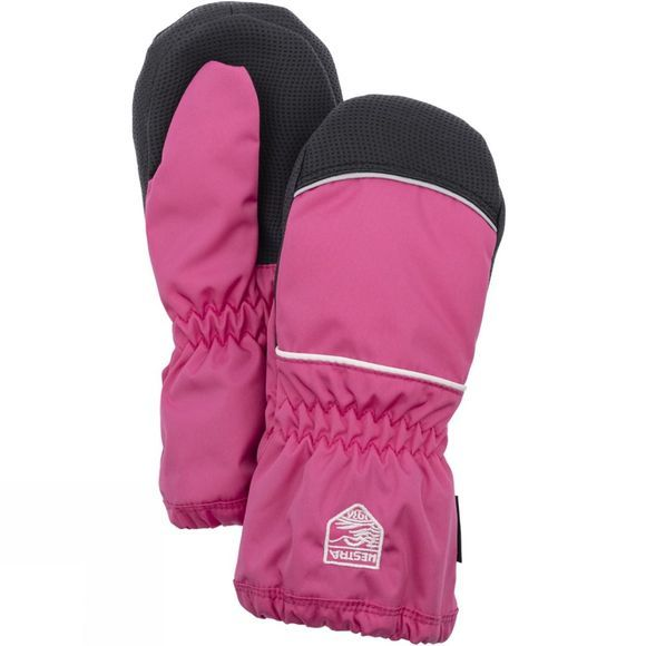 Hestra Kid's Kiddy Snow Mitts Fuschia