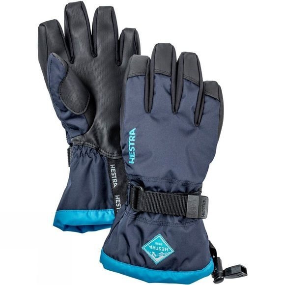 Hestra Kids Gauntlet Czone Jr Gloves Navy