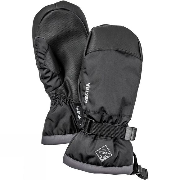 Hestra Kids Gauntlet Czone Jr Mitt Black