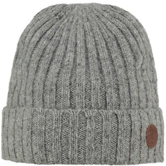 Barts Boys Haakon Turnup Beanie Heather Grey