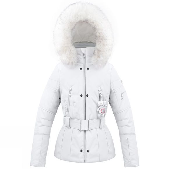 Kids Belted Fabric Jacket 14+