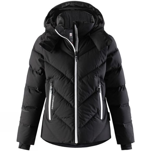 Reima Girls Waken Down Jacket Black
