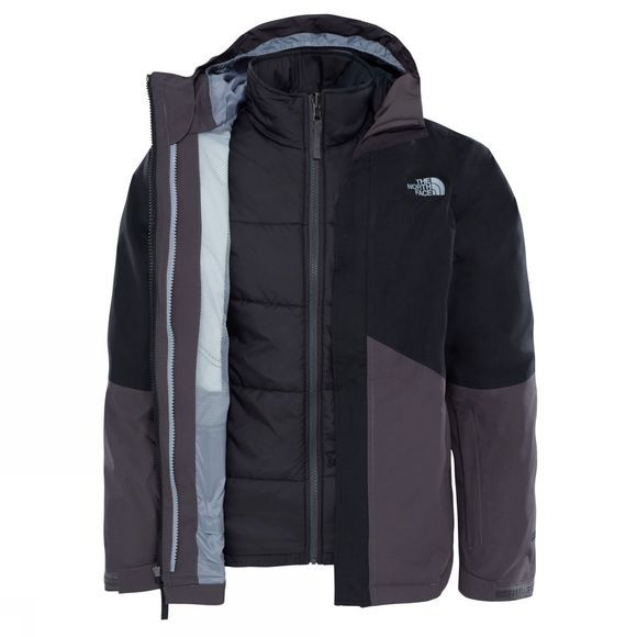 The North Face Boys Boundary Triclimate Jacket TNF Black
