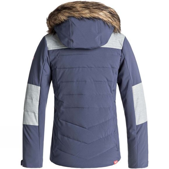 Roxy Girls Bamba Snow Jacket Age 14+  Crown Blue
