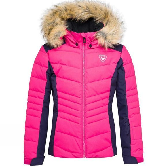 Rossignol Girls BB Jacket 14+ Pink Fushia